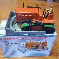 Coches a escala: DINKY SUPERTOYS Nº 885 BULLDOZER ORIGINAL + CAJA ORIGINAL.. Lote 228100456