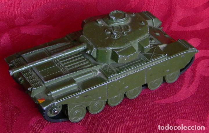DINKY TOYS 651 CENTURION TANK - AÑO 1954 - METALICO - MECCANO LTD - MADE IN ENGLAND - BUEN ESTADO (Juguetes - Coches a Escala 1:43 Dinky Toys)