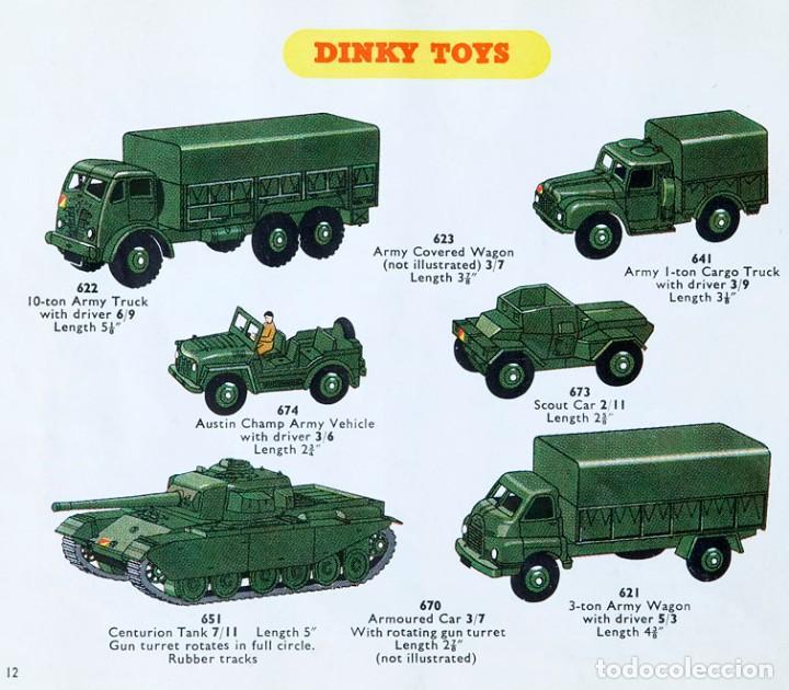 Coches a escala: DINKY TOYS 651 CENTURION TANK - AÑO 1954 - METALICO - MECCANO LTD - MADE IN ENGLAND - BUEN ESTADO - Foto 11 - 186226987