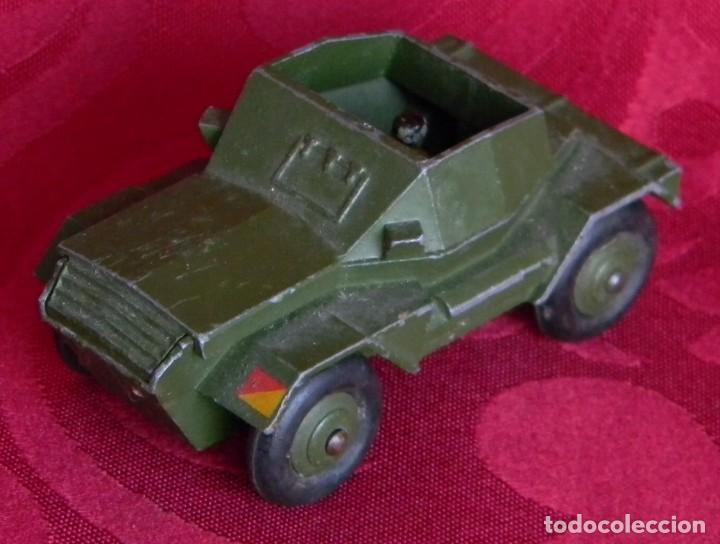Coches a escala: DINKY TOYS 673 SCOUT CAR - AÑO 1953 - METALICO - MECCANO LTD - MADE IN ENGLAND - Foto 3 - 186227196