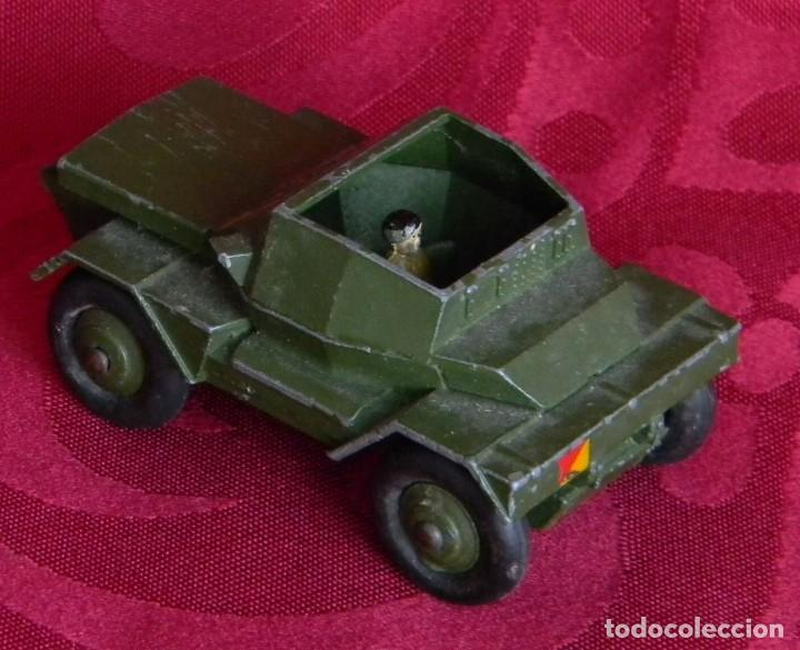 Coches a escala: DINKY TOYS 673 SCOUT CAR - AÑO 1953 - METALICO - MECCANO LTD - MADE IN ENGLAND - Foto 7 - 186227196