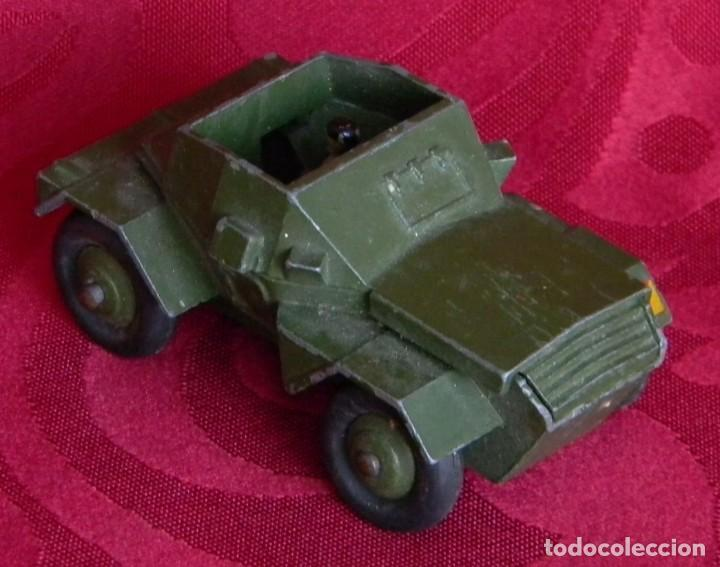 Coches a escala: DINKY TOYS 673 SCOUT CAR - AÑO 1953 - METALICO - MECCANO LTD - MADE IN ENGLAND - Foto 10 - 186227196