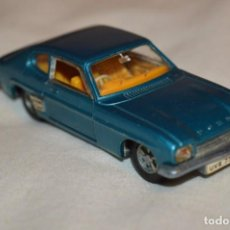 Coches a escala: DINKY TOYS - FORD CAPRI / AZUL METALIZADO - ESCALA 1/43 - MADE IN ENGLAND - DIE CAST - ¡MIRA!. Lote 191629566