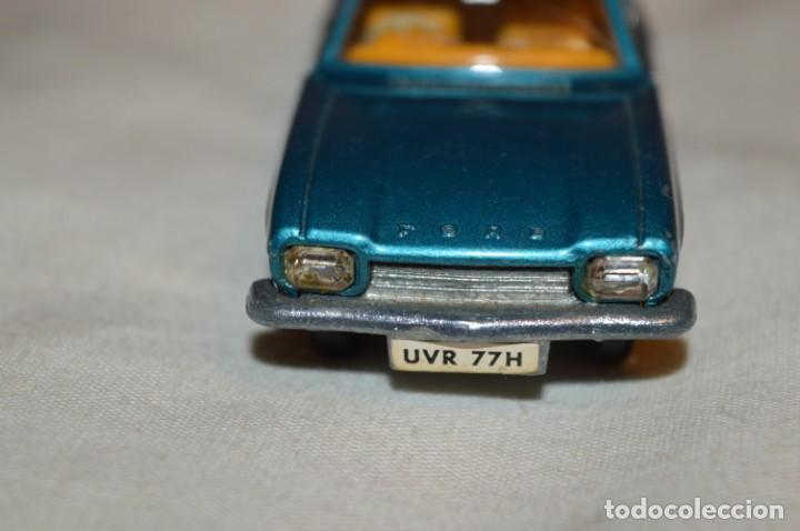 Coches a escala: DINKY TOYS - FORD CAPRI / Azul metalizado - ESCALA 1/43 - MADE IN ENGLAND - DIE CAST - ¡Mira! - Foto 5 - 191629566