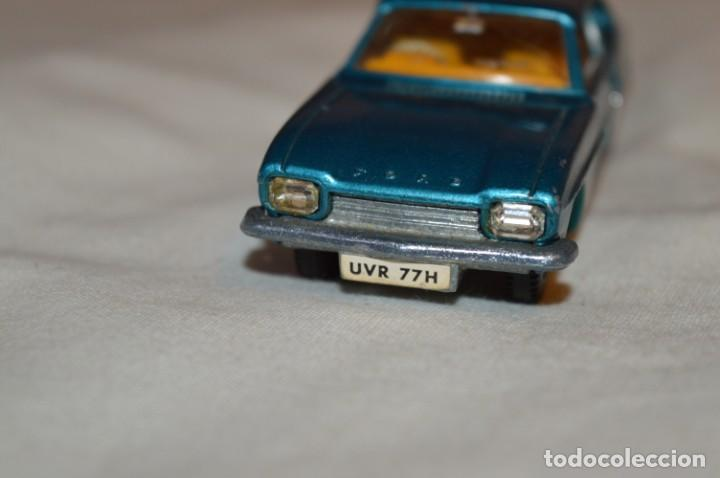 Coches a escala: DINKY TOYS - FORD CAPRI / Azul metalizado - ESCALA 1/43 - MADE IN ENGLAND - DIE CAST - ¡Mira! - Foto 6 - 191629566