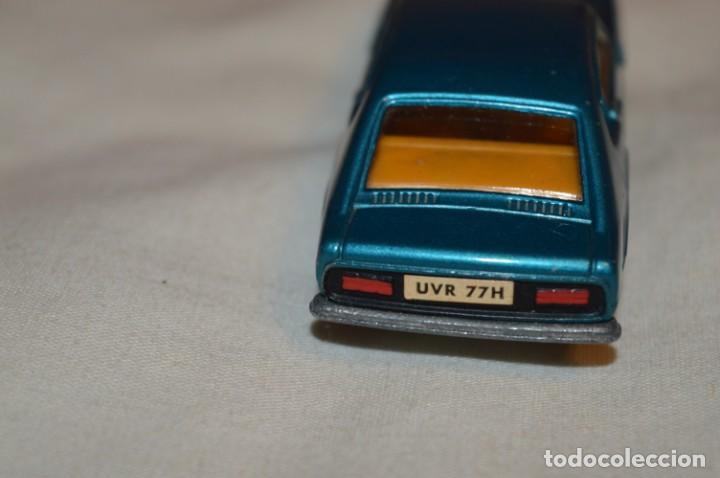 Coches a escala: DINKY TOYS - FORD CAPRI / Azul metalizado - ESCALA 1/43 - MADE IN ENGLAND - DIE CAST - ¡Mira! - Foto 7 - 191629566