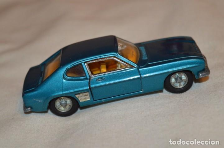 Coches a escala: DINKY TOYS - FORD CAPRI / Azul metalizado - ESCALA 1/43 - MADE IN ENGLAND - DIE CAST - ¡Mira! - Foto 4 - 191629566