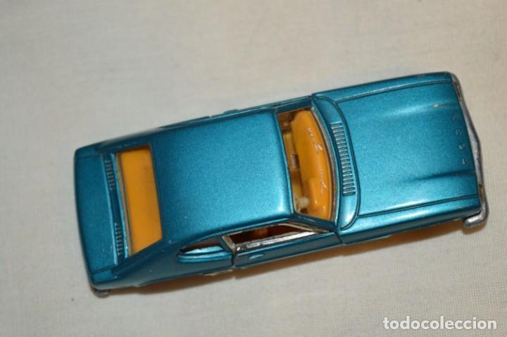 Coches a escala: DINKY TOYS - FORD CAPRI / Azul metalizado - ESCALA 1/43 - MADE IN ENGLAND - DIE CAST - ¡Mira! - Foto 8 - 191629566