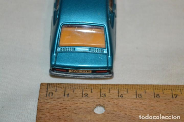 Coches a escala: DINKY TOYS - FORD CAPRI / Azul metalizado - ESCALA 1/43 - MADE IN ENGLAND - DIE CAST - ¡Mira! - Foto 11 - 191629566