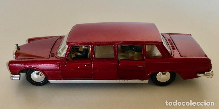 DINKY TOYS MERCEDES-BENZ 600 – ROJO - MODELO 128 - VINTAGE 1964 MECCANO ENGLAND (Juguetes - Coches a Escala 1:43 Dinky Toys)