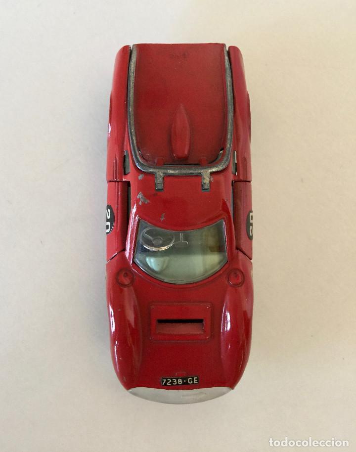 Coches a escala: DINKY TOYS DINO FERRARI – ROJO - MODELO 216 - VINTAGE 1963 MECCANO ENGLAND - Foto 4 - 192913961