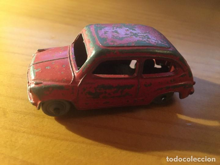 FIAT 600 DINKY TOYS REF.183 + CAJA (Juguetes - Coches a Escala 1:43 Dinky Toys)