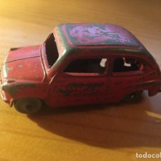 Coches a escala: FIAT 600 DINKY TOYS REF.183 + CAJA. Lote 193018203