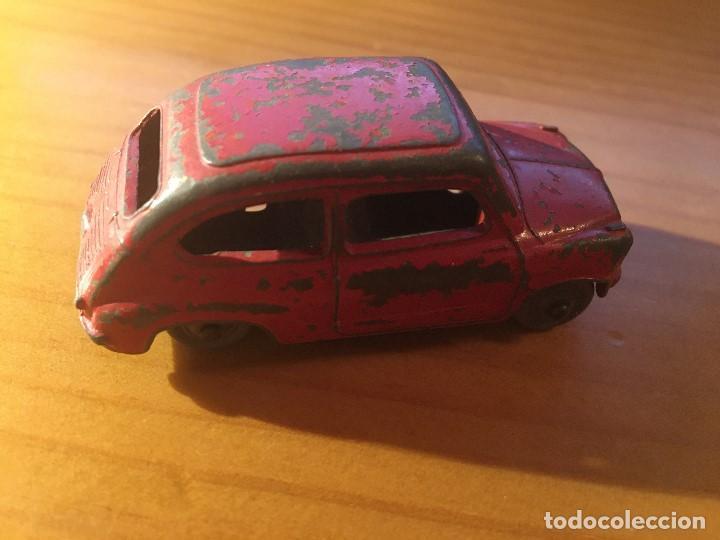 Coches a escala: FIAT 600 DINKY TOYS ref.183 + caja - Foto 4 - 193018203