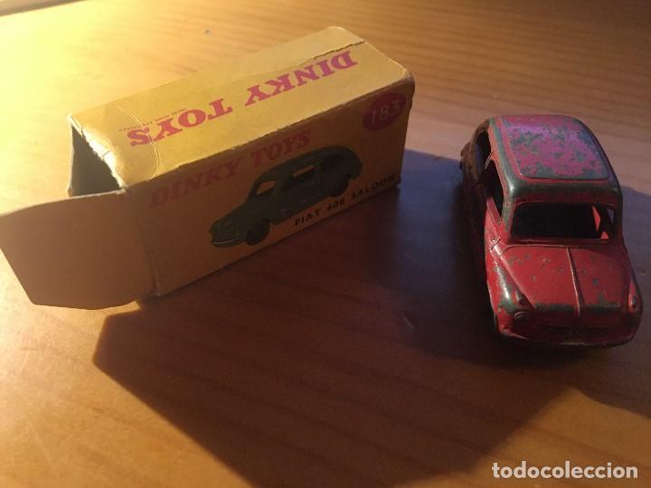 Coches a escala: FIAT 600 DINKY TOYS ref.183 + caja - Foto 5 - 193018203