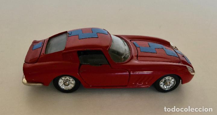 Coches a escala: DINKY TOYS FERRARI 275 GTB – ROJO - MODELO 506 - VINTAGE 1964 MECCANO FRANCE - Foto 2 - 193610412