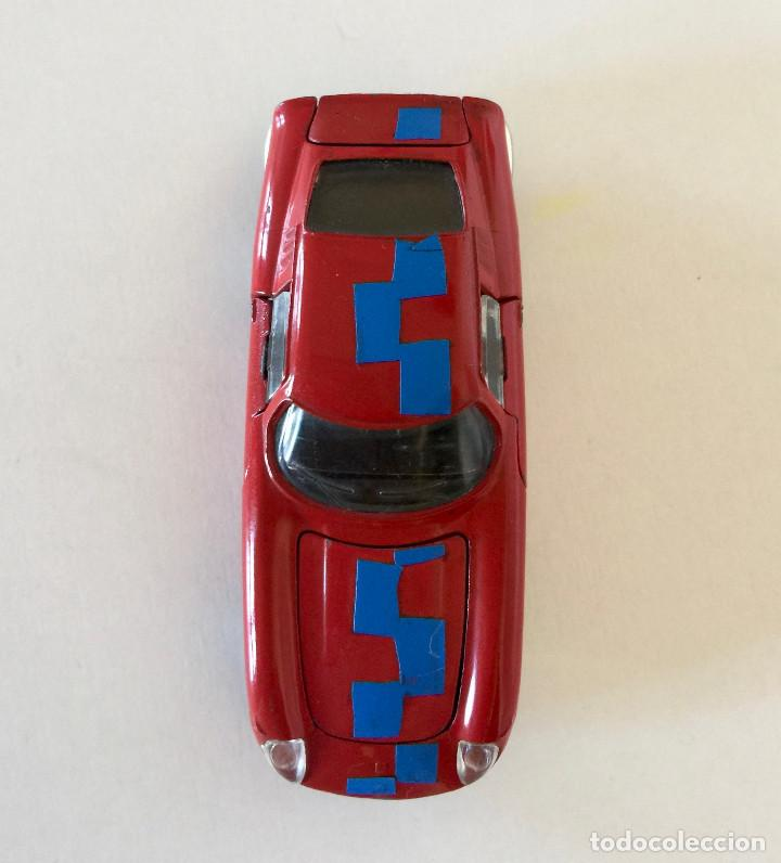 Coches a escala: DINKY TOYS FERRARI 275 GTB – ROJO - MODELO 506 - VINTAGE 1964 MECCANO FRANCE - Foto 3 - 193610412