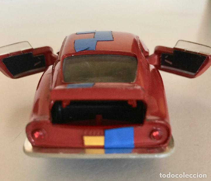 Coches a escala: DINKY TOYS FERRARI 275 GTB – ROJO - MODELO 506 - VINTAGE 1964 MECCANO FRANCE - Foto 6 - 193610412