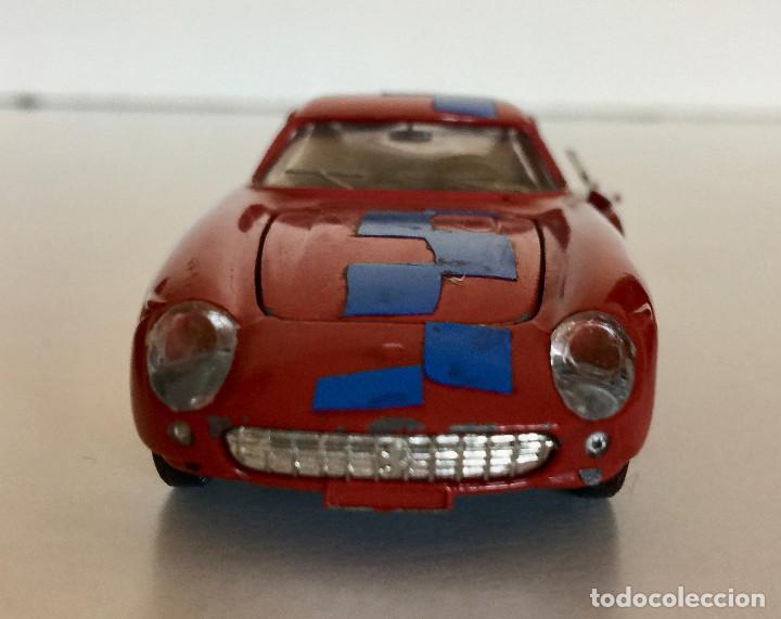 Coches a escala: DINKY TOYS FERRARI 275 GTB – ROJO - MODELO 506 - VINTAGE 1964 MECCANO FRANCE - Foto 7 - 193610412
