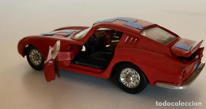 Coches a escala: DINKY TOYS FERRARI 275 GTB – ROJO - MODELO 506 - VINTAGE 1964 MECCANO FRANCE - Foto 8 - 193610412