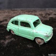 Coches a escala: ANTIGUO FIAT 600 DE MECCANO. Lote 195291525