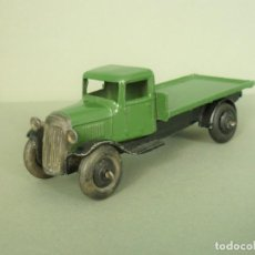 Coches a escala: MUY ANTIGUO DINKY INGLES Nº25C CAMION. FLAT TRUCK TIPO 3. AÑO 1947/48.. Lote 199298210