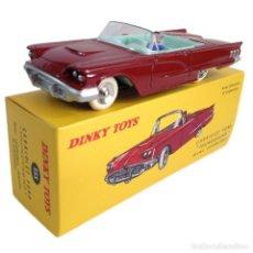 Carros em escala: FORD THUNDERBIRD CABRIOLET DINKY TOYS ATLAS DIECAST COCHE A ESCALA. Lote 217439333