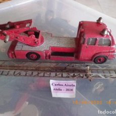Carros em escala: -- RESERVADO -- NO COMPRAR -- CAMION DE BOMBEROS DINKY SUPERTOYS TURNTABLE FIRE ORIGINAL, 250 GR.60S. Lote 204713876
