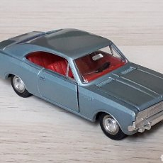 Coches a escala: OPEL REKORD 1900 COUPE REF. 1405, METAL ESC. 1/43, DINKY TOYS MECCANO MADE IN FRANCE, ORIGINAL 1968.. Lote 205052356