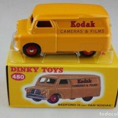 Carros em escala: FURGONETA BEDFORD 10 VAN DINKY TOYS KODAK DINKY TOYS (PLANETA AGOSTINI). Lote 205134495