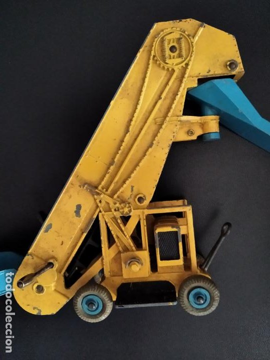 ELEVATOR LOADER, BARBER GREENE OLDING - DINKY AÑOS 70, DIECAST METAL- 17X19X6CM. (Juguetes - Coches a Escala 1:43 Dinky Toys)