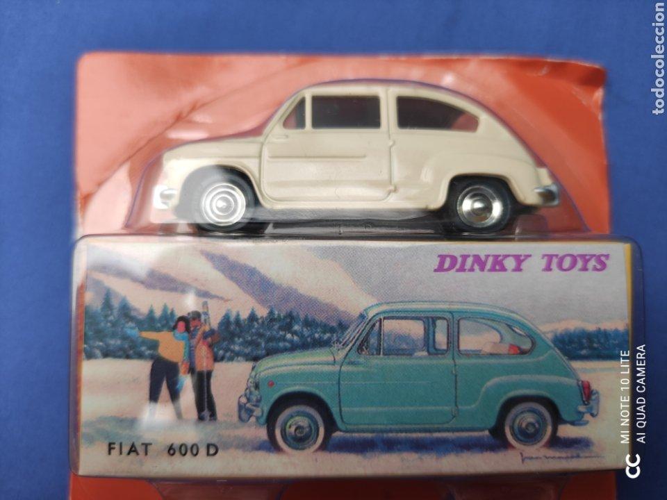 DINKY TOYS ATLAS FIAT 600, 1/43, REEDICIÓN. NUEVO Y EN CAJA (Juguetes - Coches a Escala 1:43 Dinky Toys)