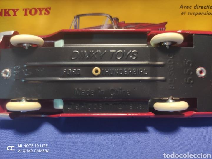 Coches a escala: DINKY TOYS ATLAS FORD THUNDERBIRD CABRIOLET, 1/43, REEDICIÓN. NUEVO Y EN CAJA - Foto 4 - 218832563