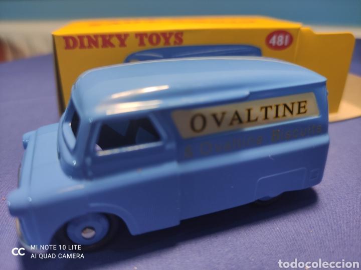 DINKY TOYS ATLAS BEDFORD VAN OVALTIME 1/43, REEDICIÓN. NUEVO Y EN CAJA (Juguetes - Coches a Escala 1:43 Dinky Toys)