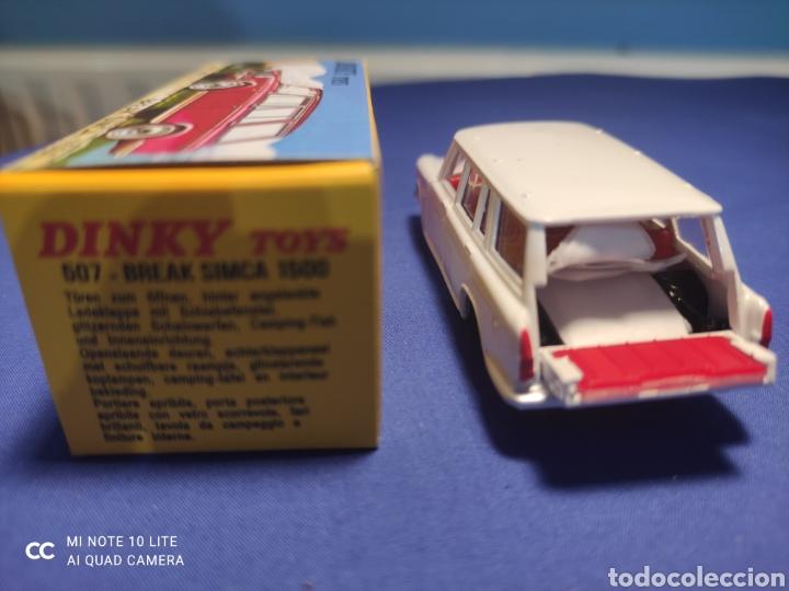 Coches a escala: DINKY TOYS ATLAS SIMCA 1500 BREAK 1/43, REEDICIÓN. NUEVO Y EN CAJA - Foto 3 - 218833848