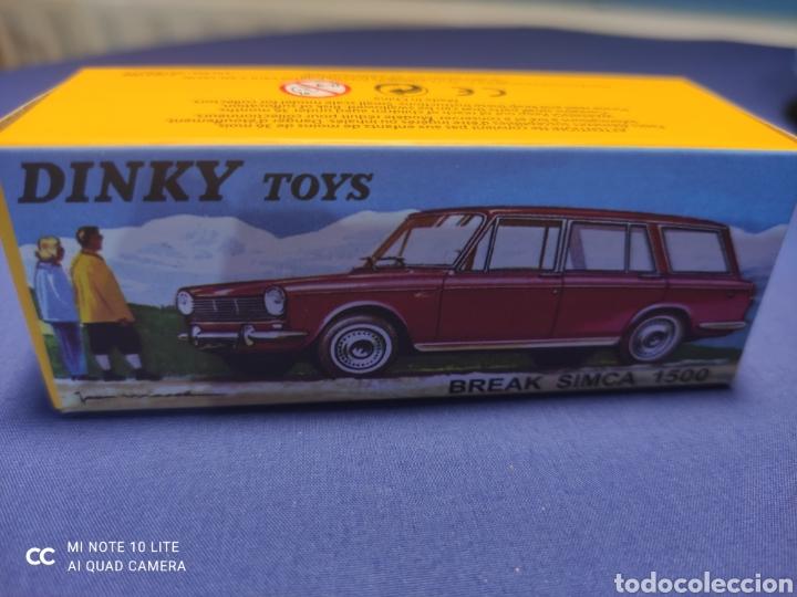 Coches a escala: DINKY TOYS ATLAS SIMCA 1500 BREAK 1/43, REEDICIÓN. NUEVO Y EN CAJA - Foto 6 - 218833848