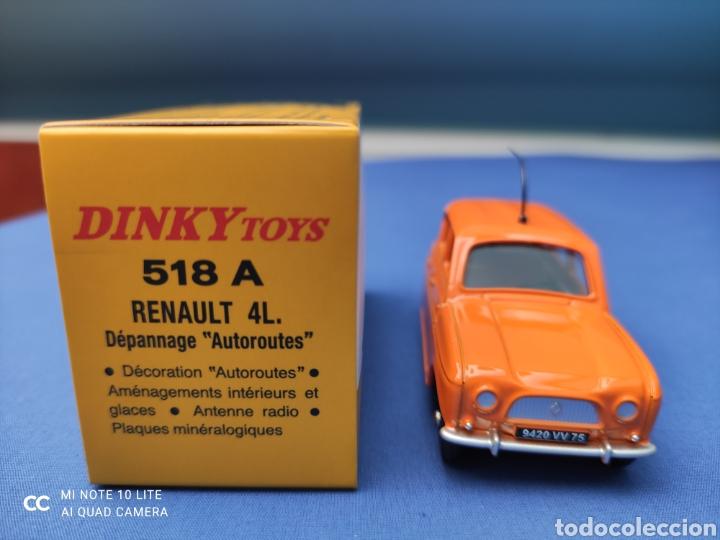Coches a escala: DINKY TOYS ATLAS RENAULT 4L AUTOROUTES. NUEVO Y EN CAJA. 1/43 - Foto 2 - 219735881