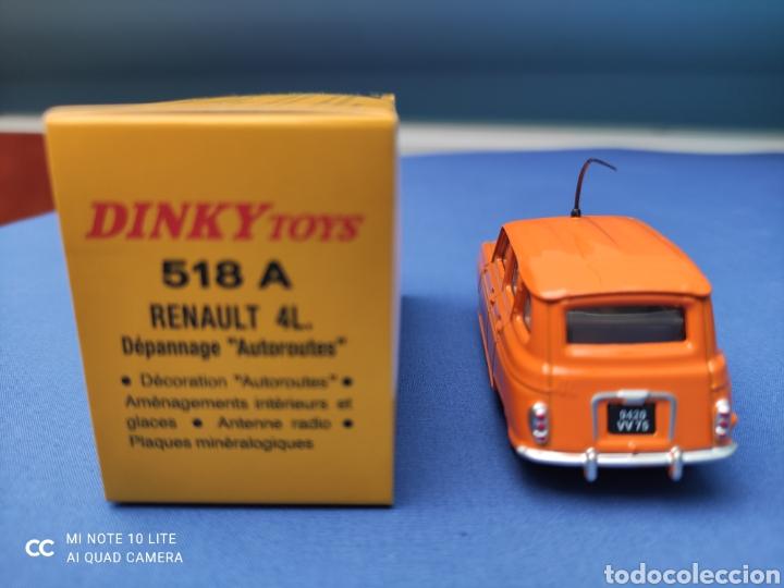 Coches a escala: DINKY TOYS ATLAS RENAULT 4L AUTOROUTES. NUEVO Y EN CAJA. 1/43 - Foto 3 - 219735881