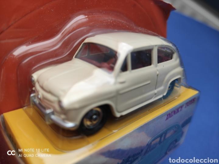 Coches a escala: DINKY TOYS ATLAS FIAT 600, 1/43, REEDICIÓN. NUEVO Y EN CAJA - Foto 2 - 220691426