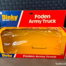 Coches a escala: DINKY TOYS CAJA VACIA FODEN ARMUY TRUCK NUM 668. Lote 221102055