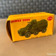 Coches a escala: DINKY TOYS CAJA VACIA 676 ARMOURED PERSONNEL CARRIER. Lote 221104301