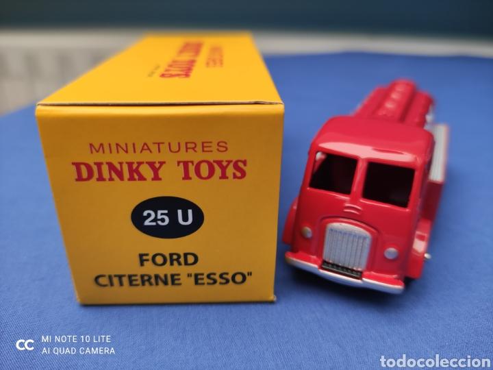 """Coches a escala: DINKY TOYS ATLAS FORD CITERNE """"ESSO"""" REEDICIÓN. NUEVO Y EN CAJA - Foto 4 - 223344967"""