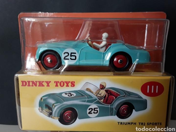 DINKY TOYS CAR TRIUMPH TR2 SPORTS 1:43 NUEVO EN SU BLISTER ORIGINAL REF 111 (Juguetes - Coches a Escala 1:43 Dinky Toys)