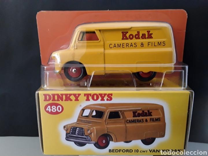 DINKY TOYS 480 FORD BEDFORD 10 CWT VAN KODAK 1:43 CAMARAS Y PELICULAS EN CAJA ORIGINAL NUEVO (Juguetes - Coches a Escala 1:43 Dinky Toys)