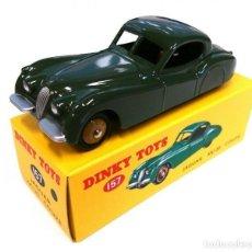 Coches a escala: DINKY TOY CAR REF 157 JAGUAR XK120 COUPE NUEVO SELLADO DE FÁBRICA. Lote 253746135