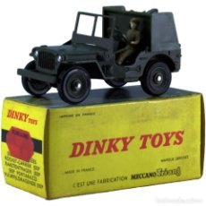Coches a escala: JEEP PORTE-FUSEES. DINKY TOYS. F. F. 60'S. Lote 246104505