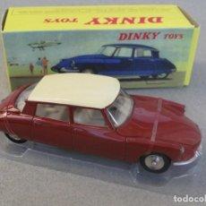 Carros em escala: DINKY TOYS/ATLAS CITROEN DS 19-MODELO AÑO 1955-1967 1:43, ROJO, EMBALAJE ORIGINAL NUEVO - METALICO. Lote 265183794