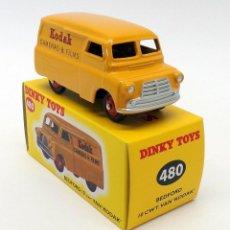 Carros em escala: DINKY TOYS 480 BEDFORD VAN KODAK NUEVO EN CAJA - METALICO. Lote 266897979
