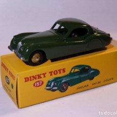 Carros em escala: DINKY TOY CAR REF 157 JAGUAR XK120 COUPE NUEVO SELLADO DE FÁBRICA - METALICO. Lote 266898014