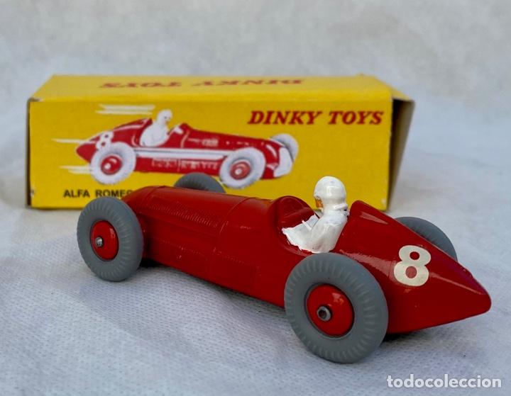 Coches a escala: DINKY. Alfa Romeo Dinky Toys antiguo - Foto 10 - 267286579